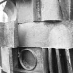 Cast Aluminum Sculpture
