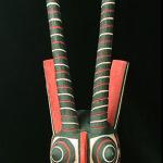Kaan Mask / Bobo people, Burkino Faso