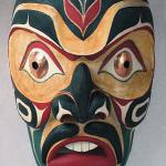 Salish Mask / John Gibson, Nanaimo, BC