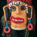 Folk Mask / Nicolae Popa, Transylvania, Romania