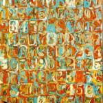 "Jasper Johns ""Numbers"" (1958/9)"