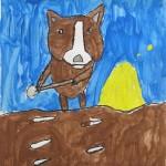 Gr.5 Animal Painting