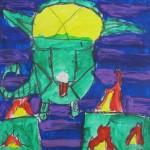 Grade 5 Art Based on a Book