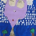 Elementary Artwork based on George Rodrigue's work