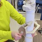 Making Paper Mache Totems