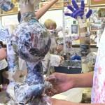 Building Paper Mache Totems