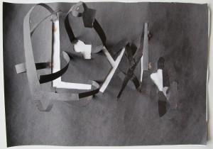 Cut Paper Composition