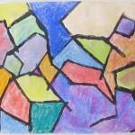 Chalk Pastel & Paint Drawing
