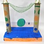 Paper Tube Sculpture