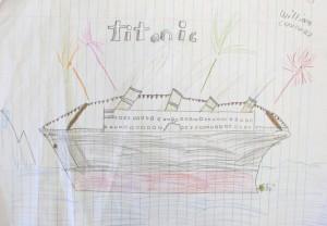 Titanic Drawing / Grade 5