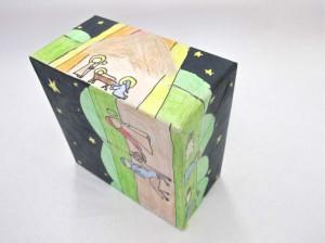 Nativity Scene on Box (Gr. 7)