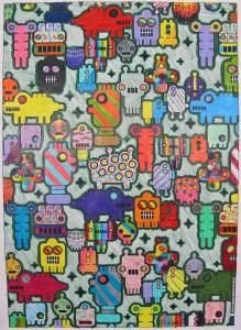 Colouring, Grade 5