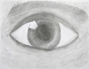 Drawing the Eye, gr. 7