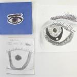 Drawings of Eyes / Elementary Art