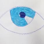 Drawing of an Eye / Gr. 6