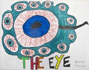 Drawing the Eye / Gr. 4/5