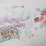 Penci Drawings of Creatures