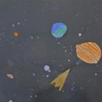 Rockets in Space / Elementary ArtArt