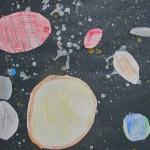 Rokets, Planets, Stars Art Project / Elementary