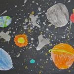 Planet Drawings / Grade 2 & 3