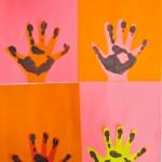 Handprint Art Project