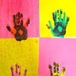 Multiple Hands in Intermediate Art