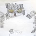 Grade 4: Pencil Drawings