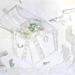 Drawing an Underwater Scene