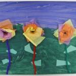Grade 1 Flower Art