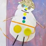 Snowmen Using Collage