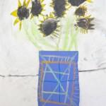 Primary Grades Flower Art