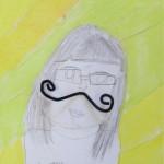 Grade 5 Art project Using Charcoal Sticks