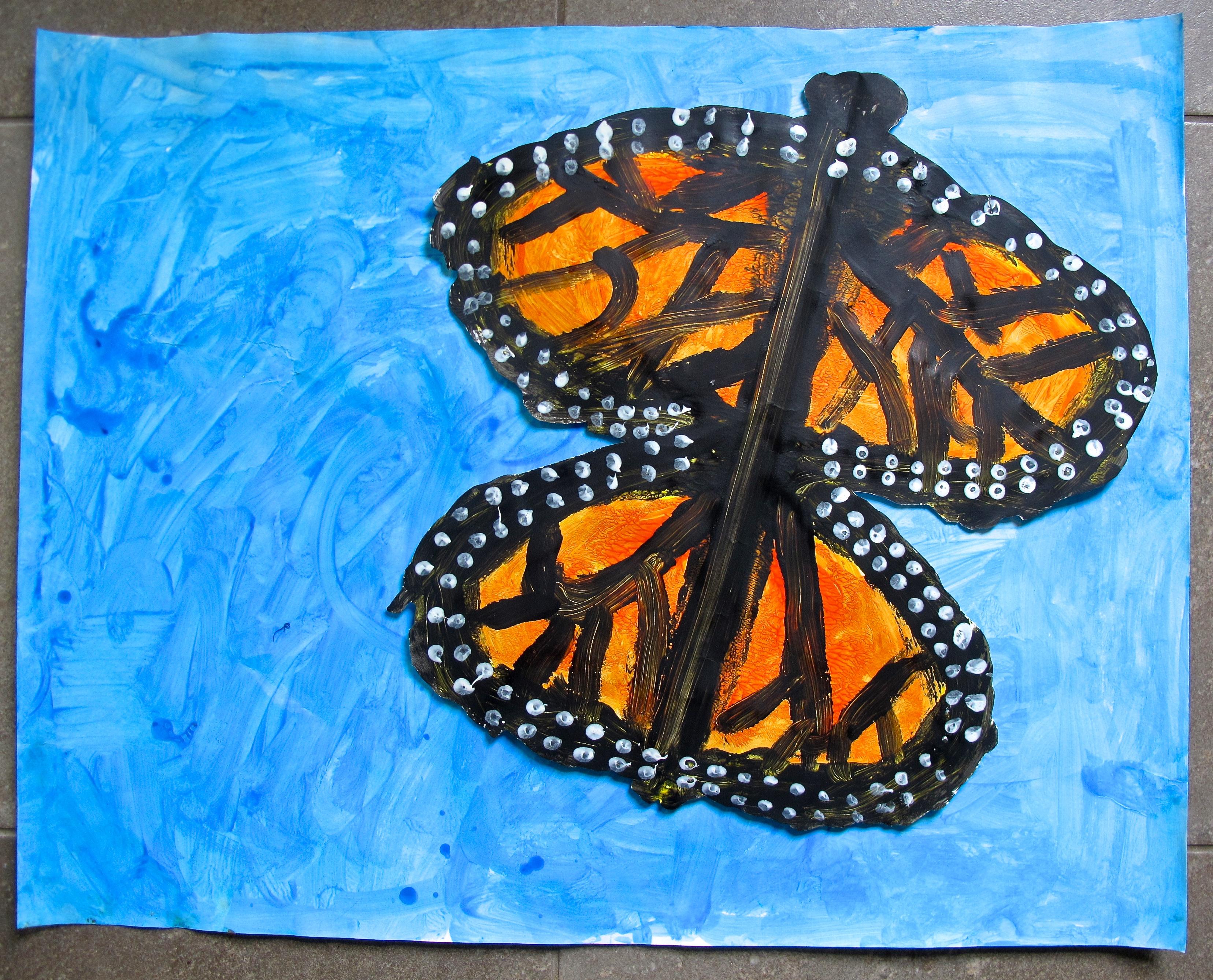 Butterfly Art Project