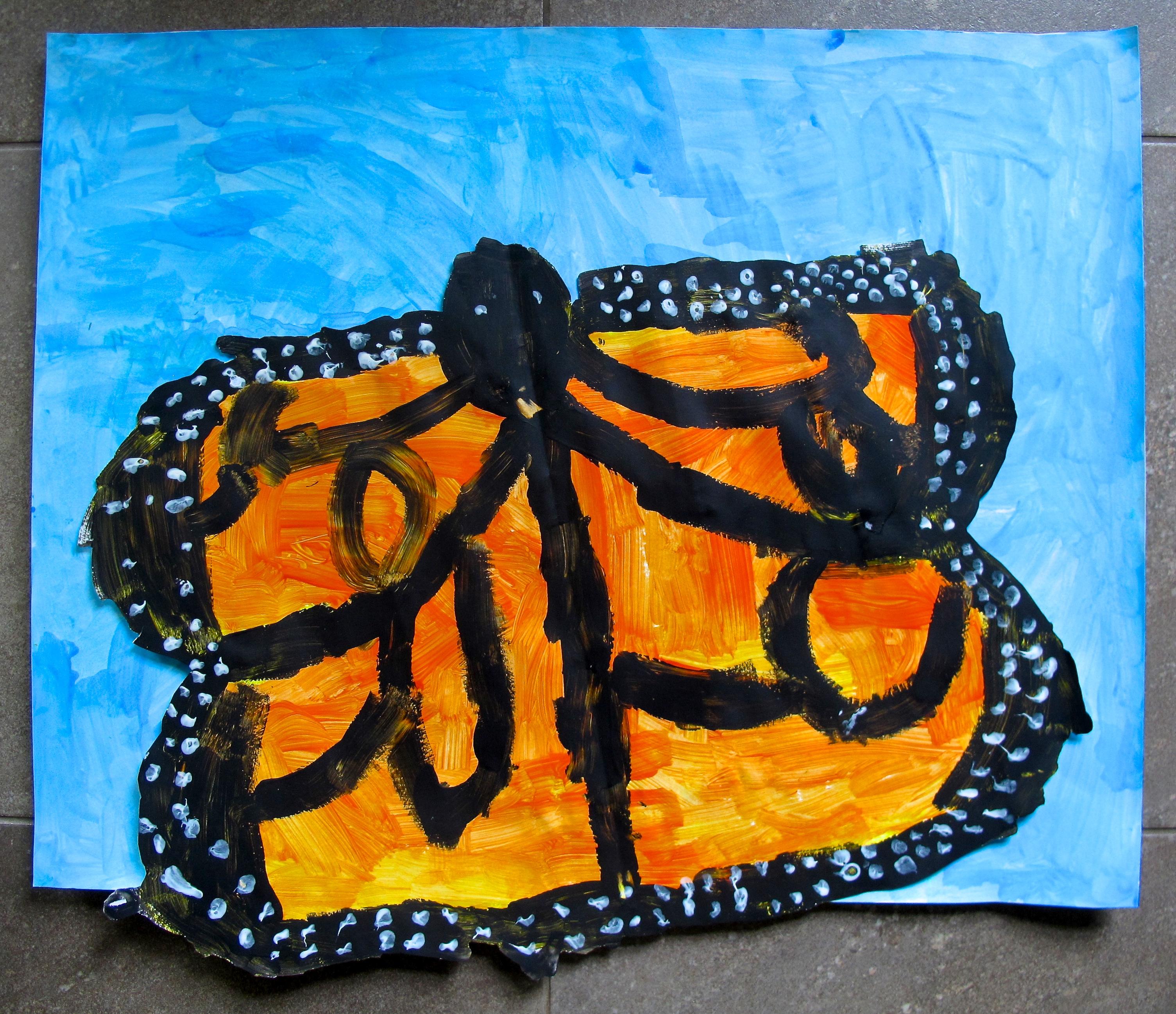 Butterfly Art Project Grade 3